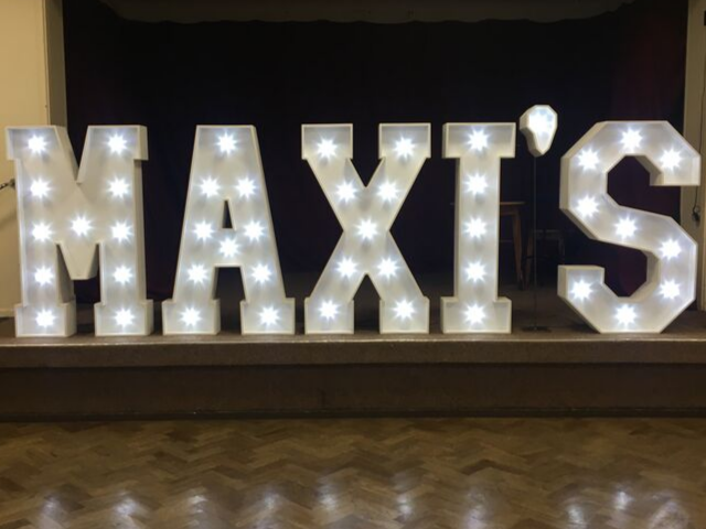 Illuminated names to make your event that extra bit special